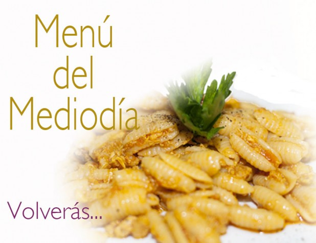 Menú del día en Da Giuseppina