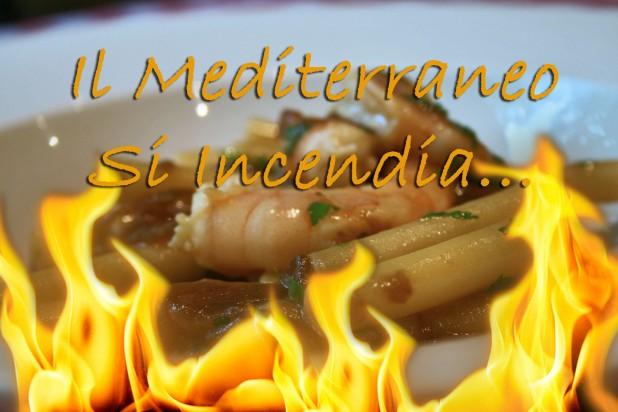 Il Mediterraneo Si Incendia en Da Giuseppina