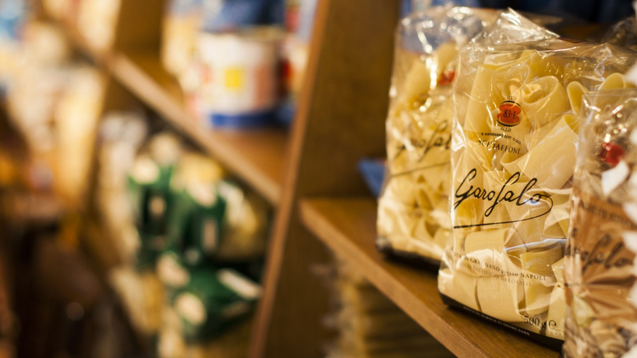 Tienda de productos italianos Da Giuseppina Madrid