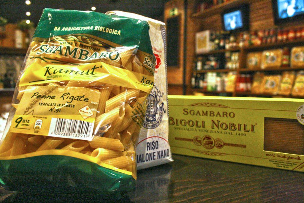 Productos italianos en Da Giuseppina